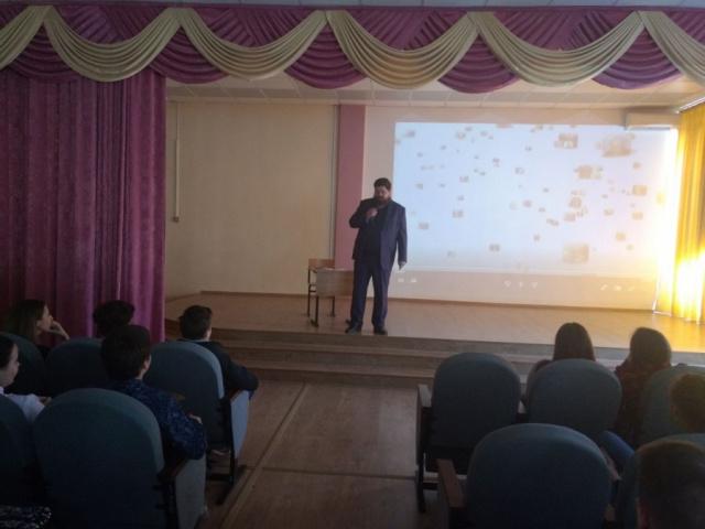 Урок Трезвости в средней школе п. Кокошкино среди старших классов
